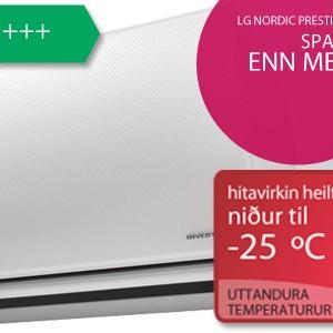 LG Nordic Prestige Plus hitapumpa